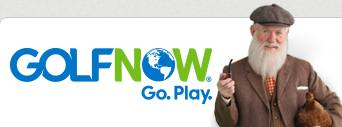 GolfNow owned and operated by The Golf Channel with NBC