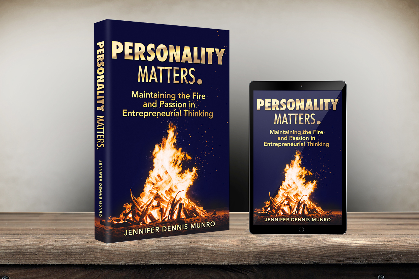 Jennifer Munro, Author of Personality Matters